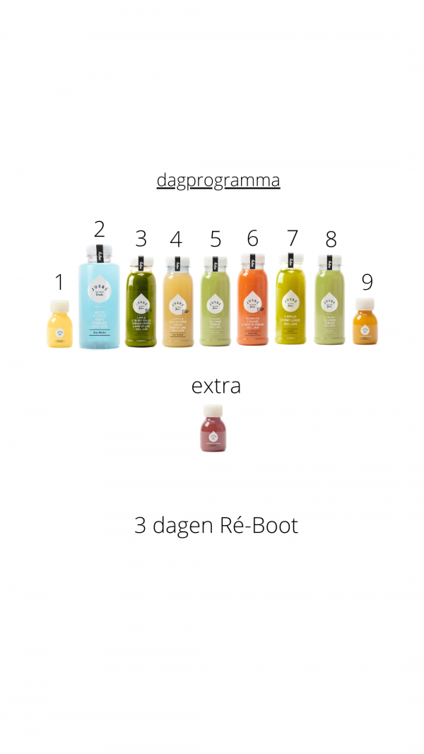 CLEANSE DETOX 3 DAGEN RE BOOT