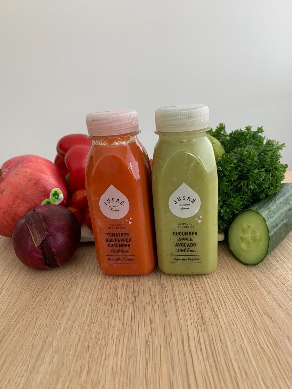 Cold Pressed Soups