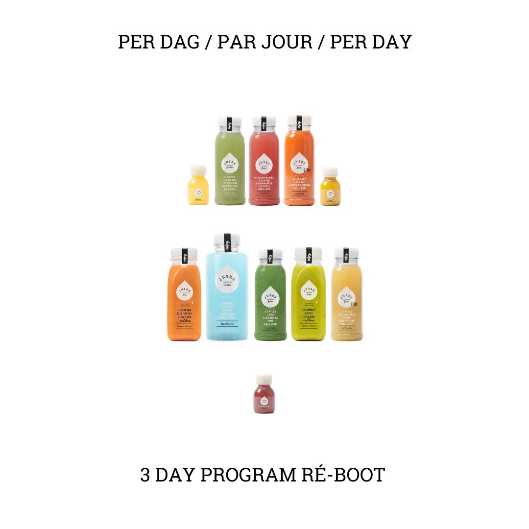 Detox Ré-boot 3 dagen SS21